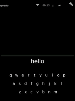 ASU Keyboard with hello