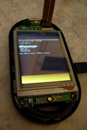 u-boot on Neo1973 console